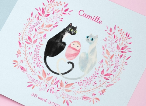 Birth Announcement – Camille